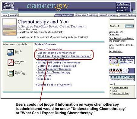 An image showing the two links, Understanding Chemotherapy and What Can I Expect During Chemotherapy.